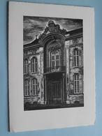 Banque De PARIS Et Des PAYS-BAS : Hôtel OSTERRIETH 85 Meir Anvers ( Anno 19?? ) Kennisgeving/Adreswijziging ! - Banque & Assurance