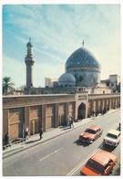 IRAQ  , Baghdad  Mosque, Car,  Old Photo Postcard - Iraq