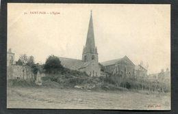 CPA - SAINT PAIR - Quartier De L'Eglise - Saint Pair Sur Mer