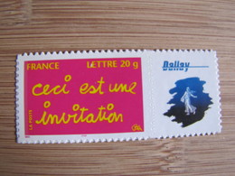 TIMBRE PERSONNALISE 3760b  LOGO PRIVE - France