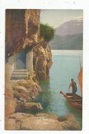 Cp , SUISSE , Bateaux , Illustrateur , Barque , Vierge , Ed. NZC , N° 1501 , Serie 88 - Switzerland
