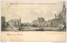 ALLEMAGNE BASSE SAXE N° 312204 - GRUSS AUS EMDEN PRECURSEUR DE 1898 - Emden