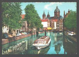 Amsterdam - O.Z. Voorburgwal - Classic Cars VW Kever, .. - 1968 - Amsterdam