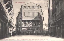 FR66 PERPIGNAN - Labouche 620 - Rue De La Loge Et Rue De La Barre - Salon De Coiffure ORIOL - Animée - Belle - Perpignan