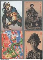 Indo China + Taiwan  4 Postkaarten Ongebruikt - Non Classificati