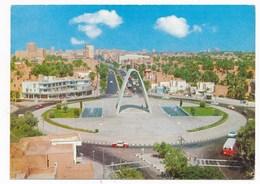 1977 BAGHDAD, Unknown Soldier Monument, Car  , IRAQ, Stamp ,  Vintage Old Photo Postcard - Iraq