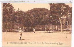 83 BEAUVALLON  SUR  MER  GOLF  HOTEL  LES  TENNIS.  SPORTS  PECHE.  CHASS  YACHTING  TBE   1R901 - Francia