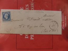 29.03.2018_LAC De Loudinieres PC 1751,ind 7,superbe Nuance Et BDF Sur N°14 ,variété,de 1855 - 1849-1876: Klassik