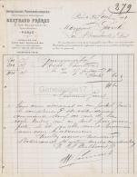 75 18 811 PARIS SEINE 1901 Impression Photomecanique BERTHAUD FRERES Rue De Bellefond  PHOTOGRAPHIE INDUSTRIELLE - France