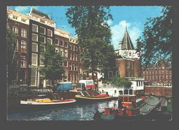 Amsterdam - Geldersekade Met Schreierstoren - Classic Car VW Kever - Amsterdam