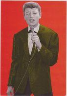 Carte Postale ,johnny Hallyday à Ses Débuts,chanteur Interprète ,né En 1943 à Paris,jean Philippe Smet - Spectacle