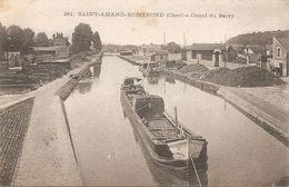 18  Cher  :  Saint-Amand-Montrond Canal Du Berry   Réf 4027 - Saint-Amand-Montrond