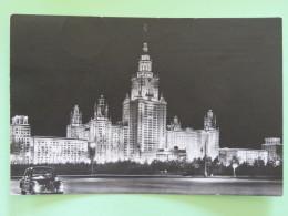 "Russia (USSR) 1967 Postcard """"Moscow - Lomonosov University"""" To Germany - Brieven En Documenten"