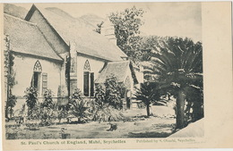 Seychelles Victoria Mahé St Paul's Church Of England   Edit Ohashi - Seychelles