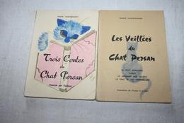VOSKRESSENSKI / Les Veillées & Trois Contes Du Chat Persan   Dédicacé - Poésie