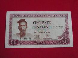 Guinée - Guinea 50 Sylis 1980 Pick 25a - Tb+ ! (CLVG22) - Guinée
