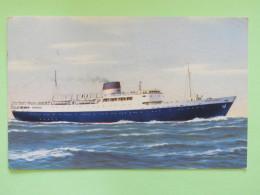 "Greece 1960 Postcard """"ship Stella Maris"""" To Germany - Greece"