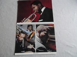 3 PHOTO CARTES MEXISONOR MUSICIENS DE JAZZ - Photos