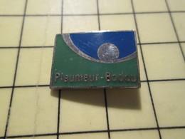 PIN513h Pin's Pins / Rare Et Beau : VILLES / VILLE DE PLEUMEUR BODOU BRETAGNE COTES DU NORD - Villes