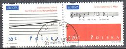Poland 1998 - Europa - CEPT - Mi 3714-3715 - Used - Usati