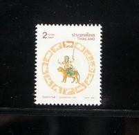 Thailand Stamp 1998 Songkran Day Zodiac (Tiger) - Tailandia