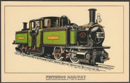 Festiniog Railway Fairlie Articulated Engine No 3 'Earl Of Merioneth' - Prescott-Pickup Postcard - Trains