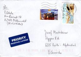 Auslands - Brief Von Briefzentrum 82 Mit 150 Cent Mischfrankatur 2018 - BRD