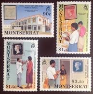 Montserrat 1990 Penny Black Anniversary MNH - Montserrat