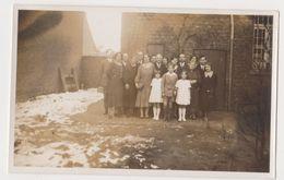 26476 Photo Nederland Flandre Belgique -famille Jugen -vers 1940 - Personnes Identifiées