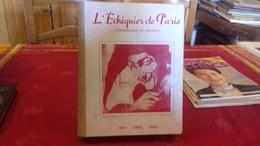 RARE RELIURE 1951,1952,1953.L'ÉCHIQUIER DE PARIS,L'ÉCHIQUIER DE FRANCE.REVUE D'ÉCHECS (col8a) - Palour Games