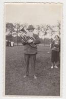 26477 Photo Nederland Flandre Belgique -musique  Tuba Vers 1935 - Personnes Anonymes