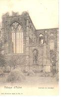 Montigny-le-tilleyul - CPA - Ruine De L'Abbaye D'Aulne - Verrière Du Transept - Montigny-le-Tilleul