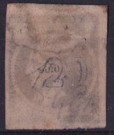 GREECE 1875-80 LHH On Cream Paper 20 L Ultramarine Inverted 0 And Wide Spaced CN Pos 142 Vl. 65 N - Gebruikt