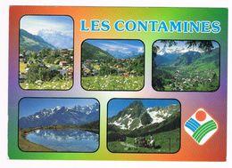CPA 74 HAUTE-SAVOIE - Les Contamines-Montjoie Multi-vues 1994 - Les Contamines-Montjoie