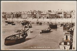 In The Harbour, St Ives, Cornwall, 1951 - Photomatic RP Postcard - St.Ives