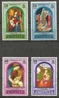 Anguilla - 1971 Christmas MNH **  Sc 132-5 - Anguilla (1968-...)