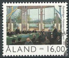 ALAND 1991 Mi-Nr. 53 O Used - Aus Abo - Aland
