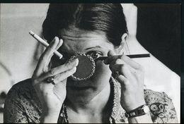 PLANCHE HELIO 16X23,5   - # 460 - MAQUILLAGE EN FUMANT LA CIGARETTE (AMSELLEM) - Reproductions