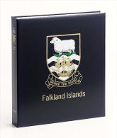 DAVO LUXE ALBUM ++ FALKLAND ISLANDS I 1878-1995 ++ 15% DISCOUNT LIST PRICE!!! - Albums Met Klemmetjes