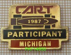 INDY CAR 1987 CART PARTICIPANT MICHIGAN INDYCAR - Car Racing - F1