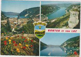 01  Nantua Vue Generale Et Le Lac - Nantua