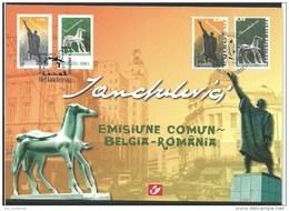 Herdenkingskaart - Carte-souvenir Romenie  3308 HK (cob ) Cote  : 7.50 Euro - Cartes Souvenir
