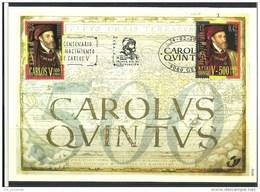 Herdenkingskaart - Carte-souvenir Karel V  2887 HK (cob ) Cote  : 8.50 Euro - Souvenir Cards