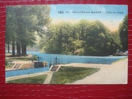 51 . CHALONS SUR MARNE - L'Ile Du Canal - Châlons-sur-Marne
