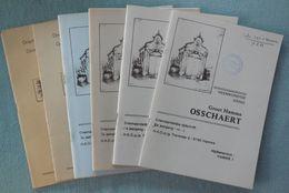 02 - 6 Nrs. Tijdschrift Groot Hamme Osschaert - 1989-1990 - Histoire