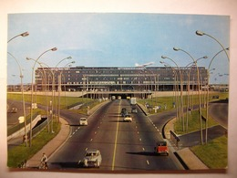 Carte Postale Aeroport De Paris-Orly - L'Aerogare (Couleur Oblitérée Timbre 0.25 Franc ) - Aérodromes