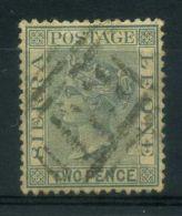 SIERRA LEONE ( POSTE ) : Y&T N°  23  TIMBRE  BIEN  OBLITERE , A  VOIR . - Sierra Leone (...-1960)
