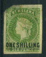 SAINTE-HELENE ( POSTE ) : Y&T N°  ?  TIMBRE   OBLITERE , DANS  L ETAT , A  VOIR . - Saint Helena Island