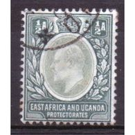 East Africa And Uganda Protectorate 1/2  Annas Fine Used Stamp.  This Stamp Showing Edward VII Was Issued In 1903. - Kenya, Uganda & Tanganyika