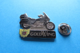 Pin's, Moto, Bike, HONDA GOLDWING,Motorrad, Töff - Motorbikes